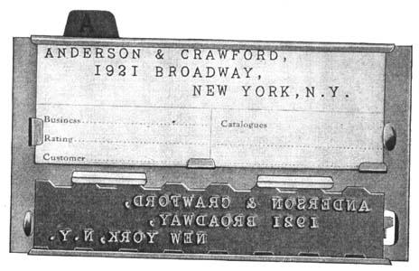 1907_Addressograph_Metal_Plate