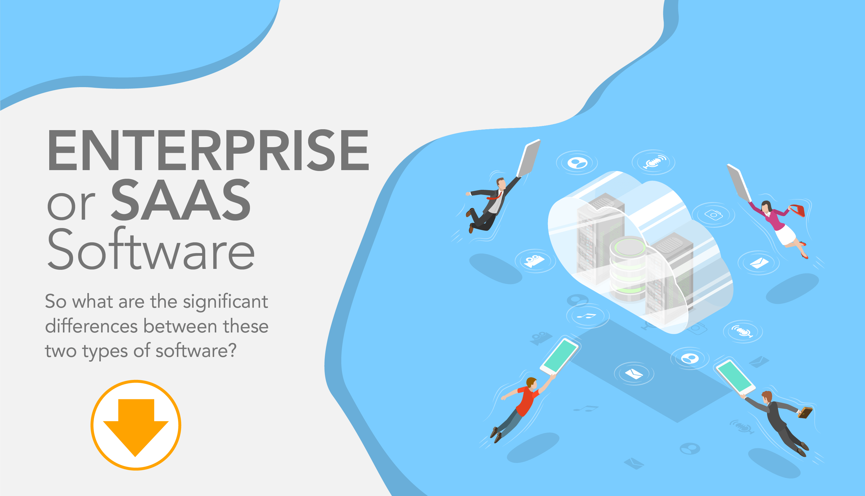 Enterprise software vs. software as a service