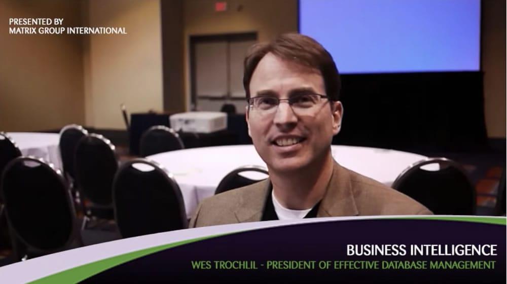 Wes Trochlil on Database Management